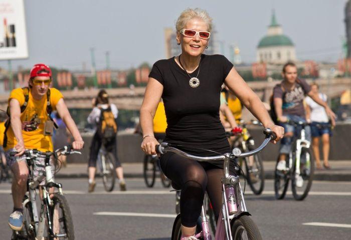 Велопарад в Москве (46 фото)