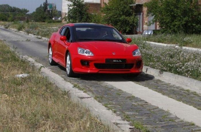 Спортивная машина от ТАГАЗ (4 фото)