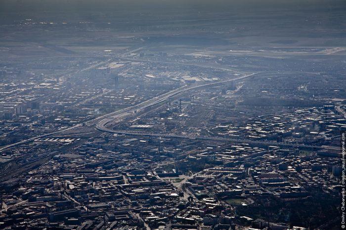 Санкт-Петербург с высоты птичьего полета (46 фото)