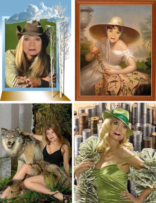 Богиня фотошопа (27 фото)