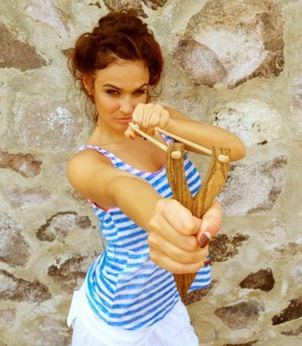 Алена Водонаева на отдыхе (8 фото)