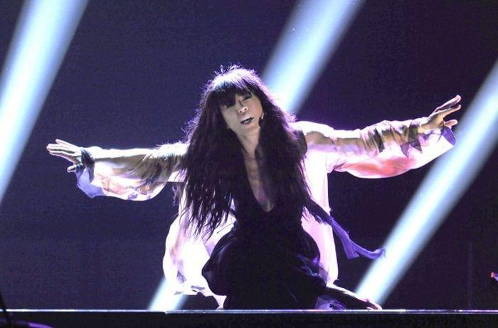 Внешность певицы Loreen (5 фото)