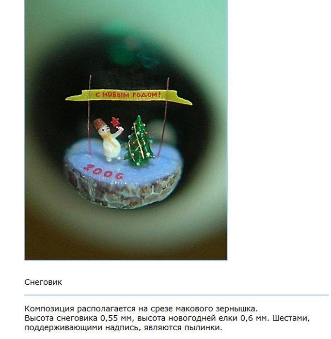 Микроминиатюра (32 фото)