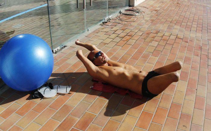 Тренировка параолимпийцев (12 фото)