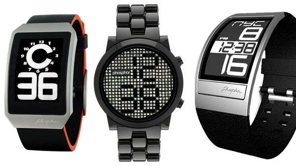 """Фантастические часы """"Фосфор"""": и на электронных чернилах, и с кристаллами (25 моделей, много фото)"""