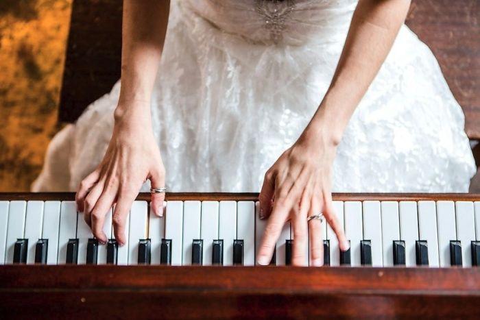 Свадьба в стиле Minecraft (63 фото)