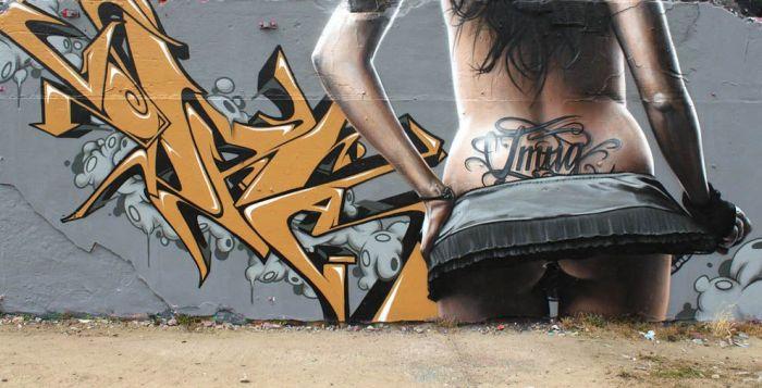 Уличное искусство от SmugOne (24 фото)