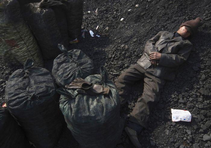 Спящие люди из Китая (50 фото)