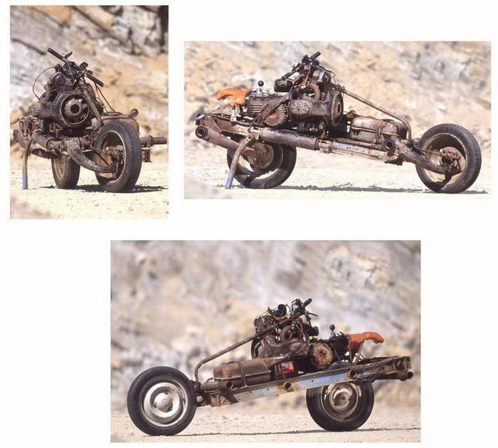 Поломка автомобиля в пустыне (6 фото)