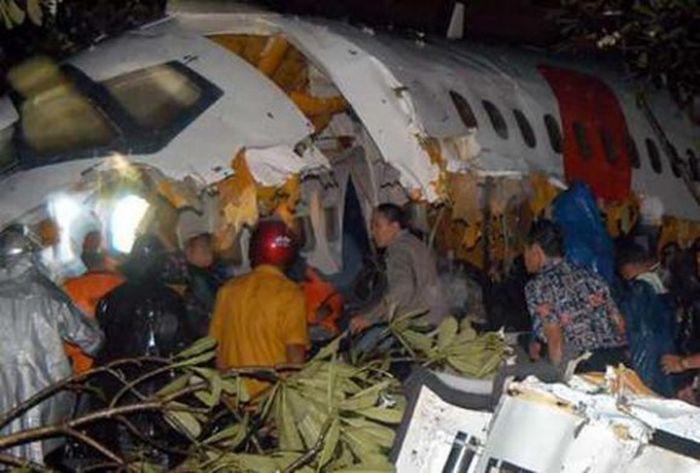 Авиакатастрофы (96 фото)