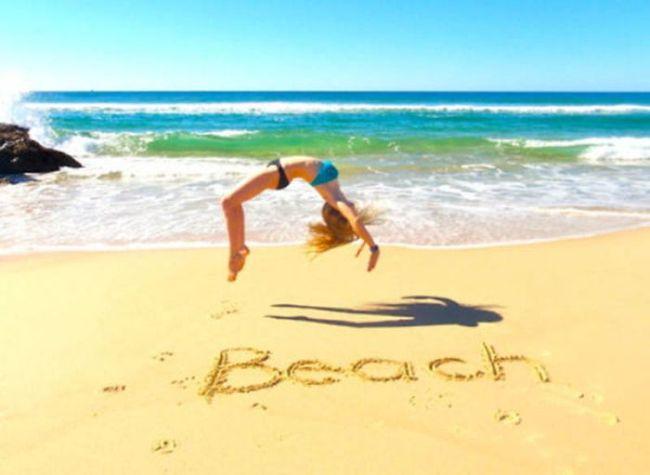 Лето. Девушки. Пляж (60 фото)