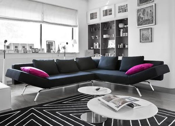 Креативный дизайн интерьера для малой жилплощади (49 фото)
