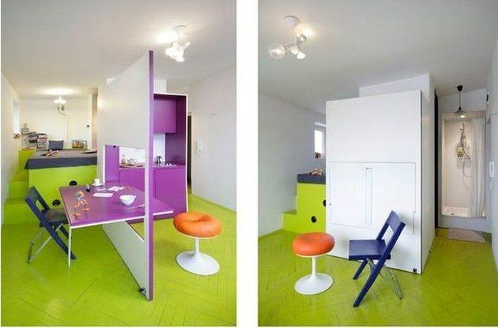 7 креативных идей для малогабаритных квартир с фото