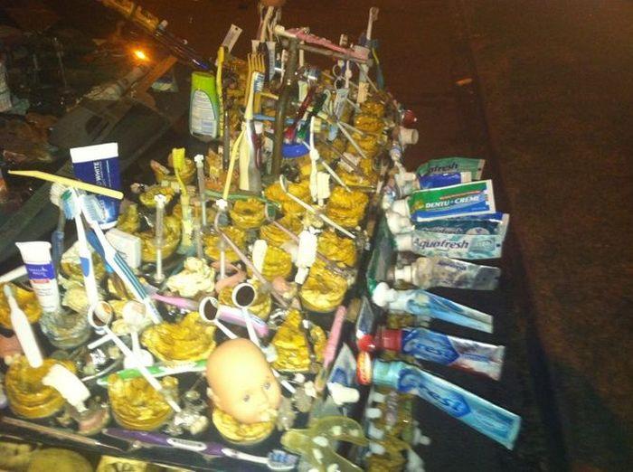 Автомобиль сумасшедшего стоматолога (8 фото)