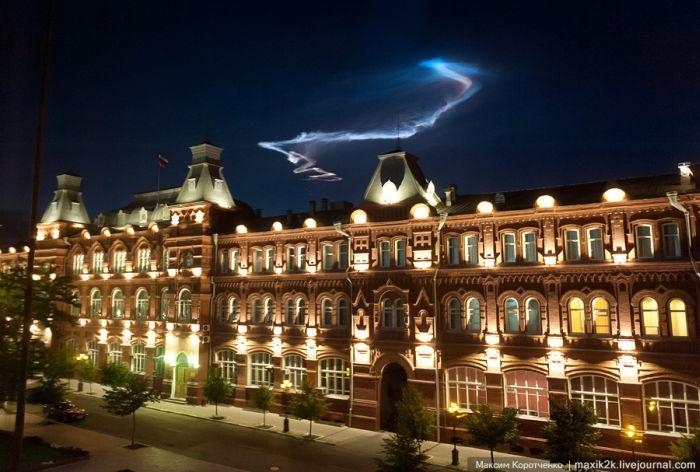 НЛО над Астраханью (8 фото + видео)