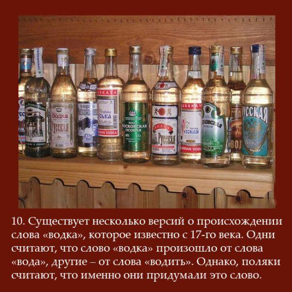 Факты об употреблении алкоголя в России (10 картинок)