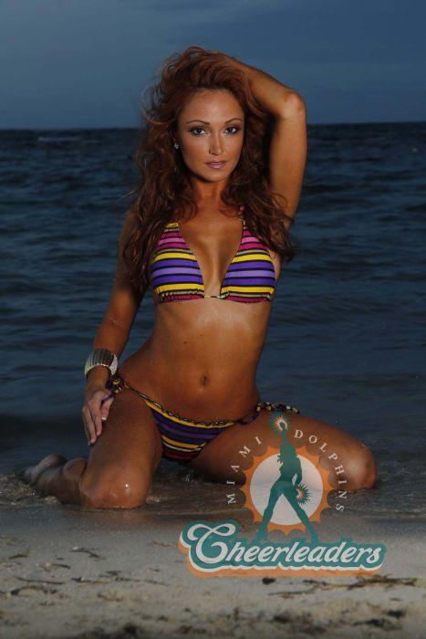 Группа поддержки Miami Dolphins (18 фото)