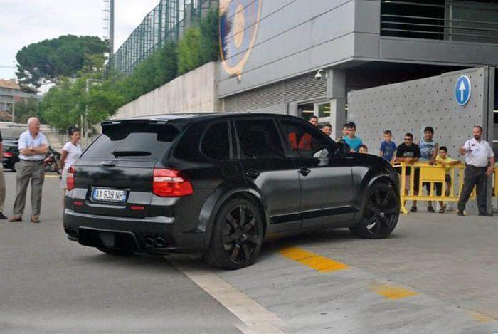На чем ездят футболисты Евро-2012 (23 фото)