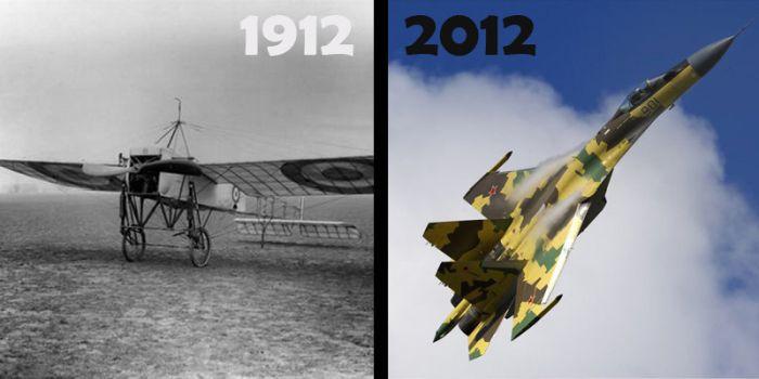 Достижения человечества за прошедшие сто лет? (12 фото)