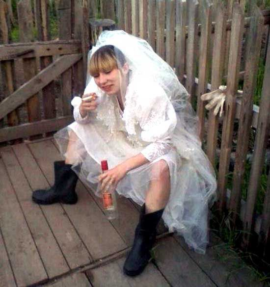 Пьяные невесты (25 фото)