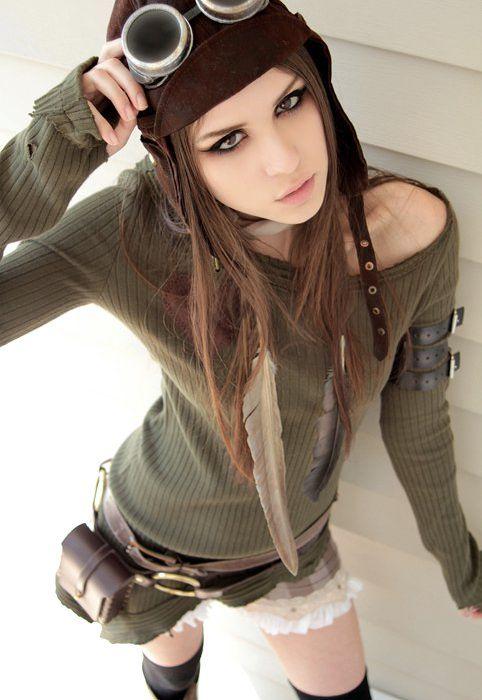 Стимпанк девушки (85 фото)