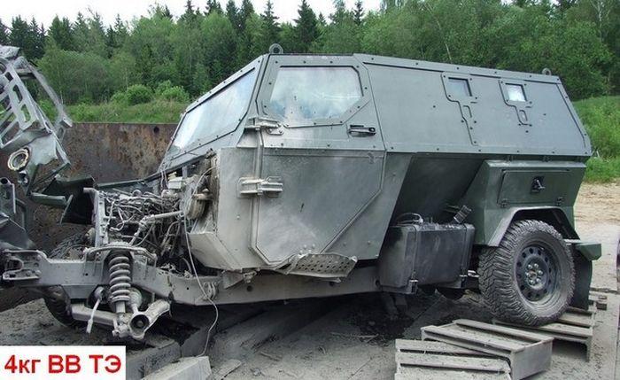 """Испытания отечественного бронеавтомобиля """"Скорпион"""" ( 6 фото )"""