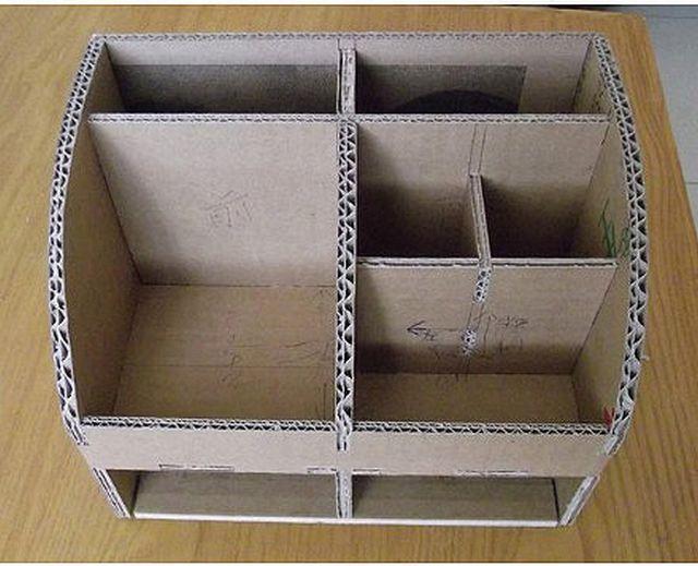 Коробка шкатулка для косметики своими руками