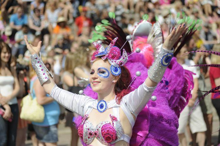 Карнавал Самбы в Хельсинки (116 фото)