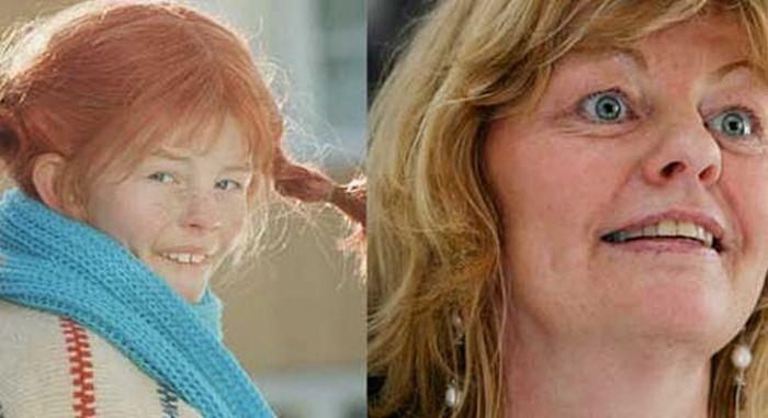 Как изменилась Пеппи Длинныйчулок (5 фото)