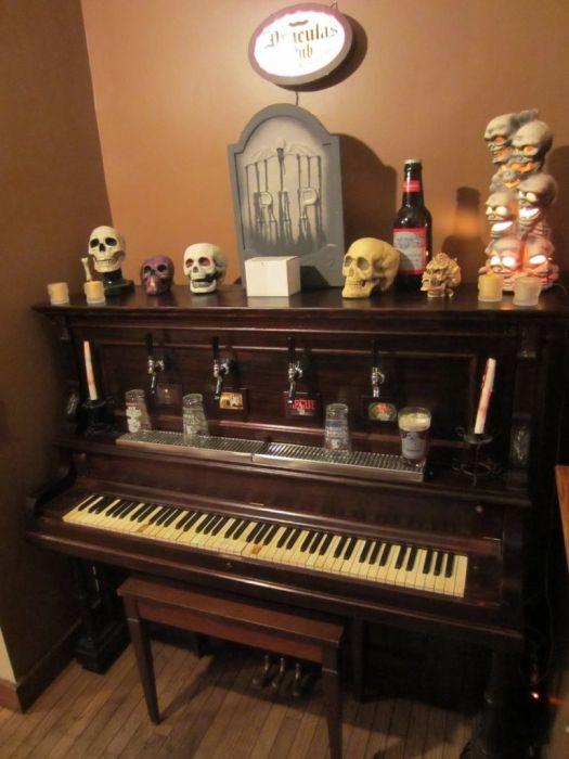 Пивной рояль своими руками (9 фото)