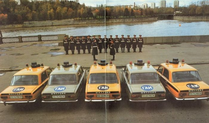 Милиция в Советском Союзе (58 фото)