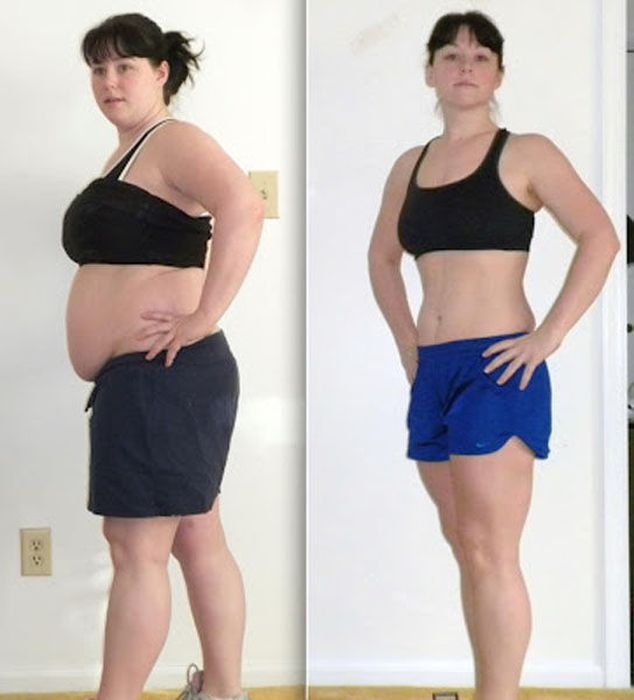 Фото людей которые похудели и как