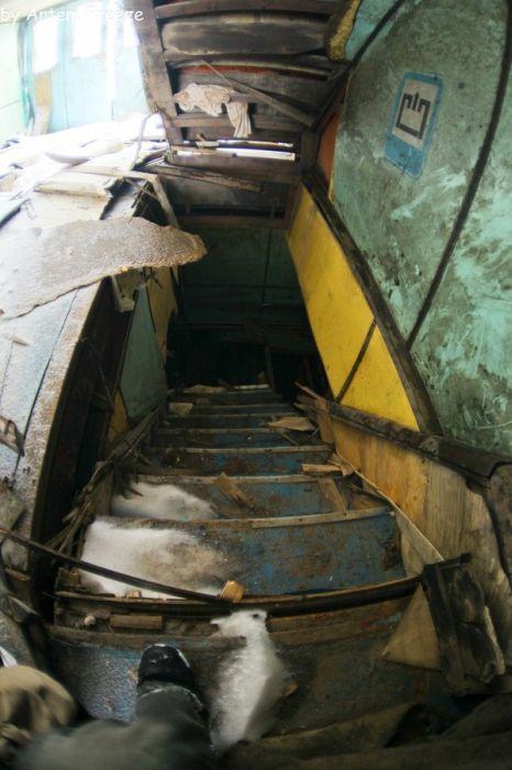 Заброшенный теплоход «Булгария» (11 фото)