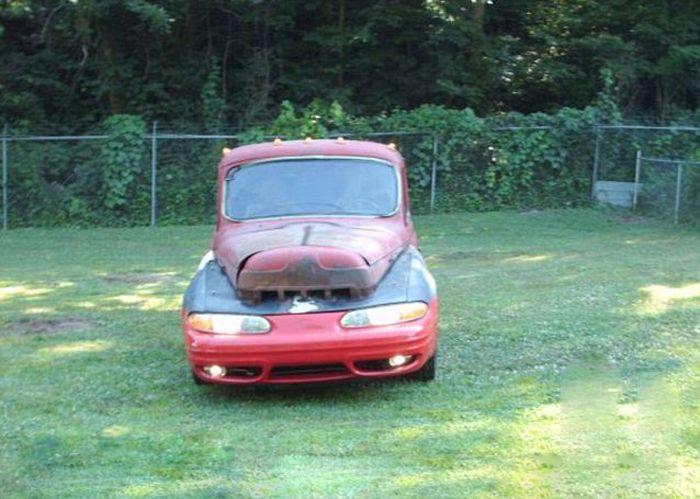 Худший самодельный автомобиль в мире (4 фото)