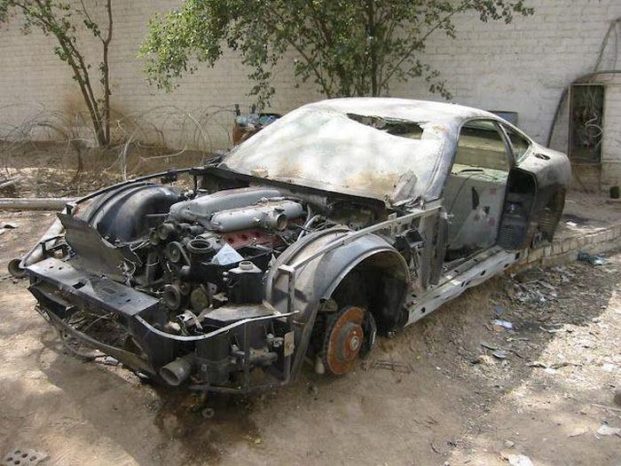 Коллекция автомобилей Удея Хусейна (19 фото)