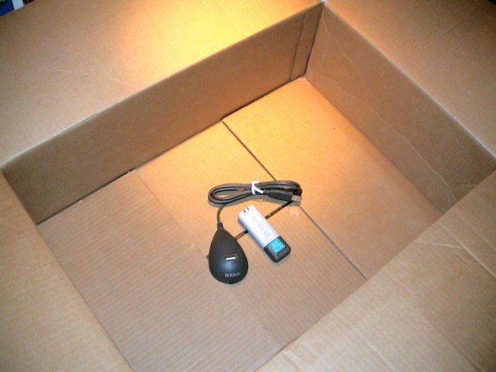 Доставка USB Wi-Fi адаптора по почте (3 фото)