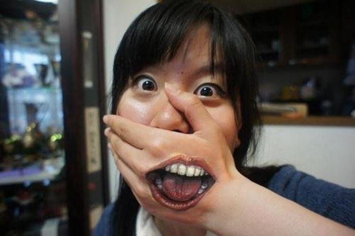 Страшный бодиарт (6 фото)