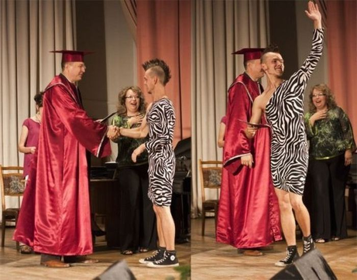 Креативный костюм на защиту диплома (4 фото)