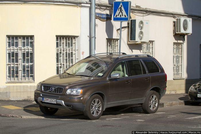 Проблемы парковки в Москве (59 фото)