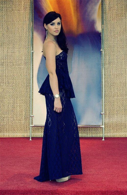Прозрачное выпускное платье. Часть 5 (7 фото)