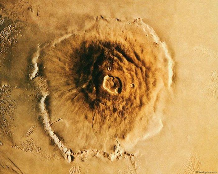 Высочайшая гора в солнечной системе (7 фото)