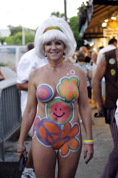 Американский фестиваль боди арта (61 фото)