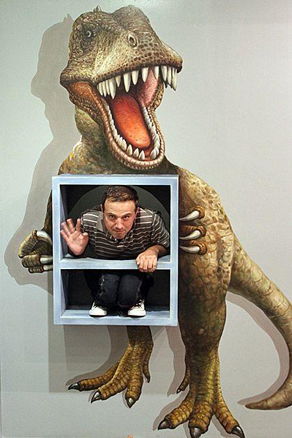 Сногсшибательные 3D-рисунки (29 фото)