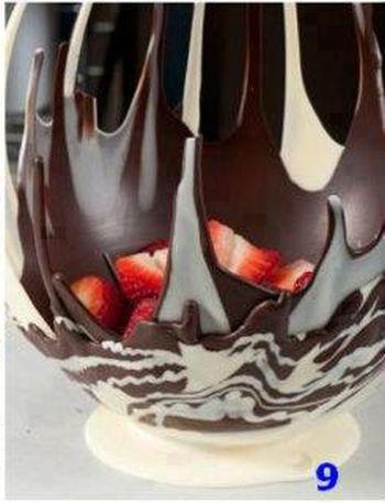 Шоколадное лакомство своими руками (9 фото)