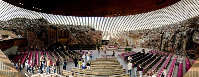 Удивительная церковь в Финляндии (12 фото)