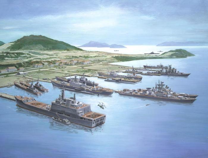 Советская военная мощь (35 рисунков)