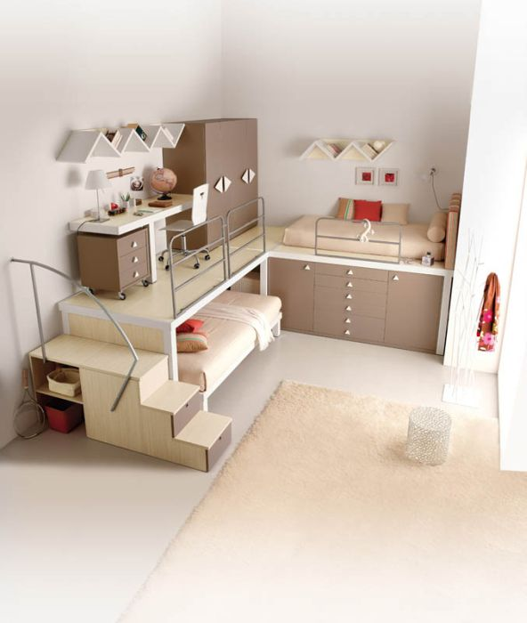 Креативный дизайн детских комнат (12 фото)