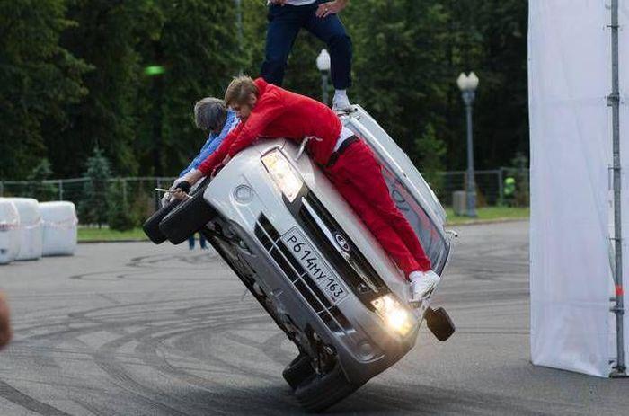 Фестиваль скорости в Москве (15 фото)