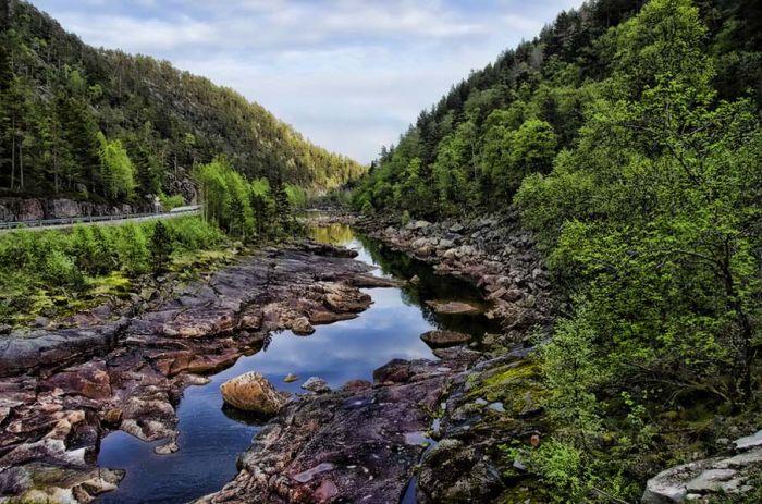 ТОП-50 потрясающих фотографий Норвегии (50 фото)