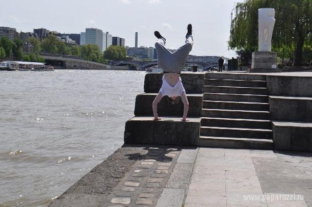 Внук Пугачевой подался в паркур